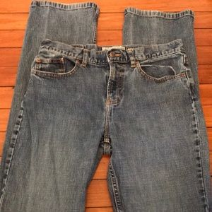 Old Navy low waist boot cut jeans size 6 long